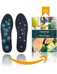 Schönheit & Gesundheit Körper Detox Abnehmen Magnetische Fuß Akupunktur Punkt Therapie Einlegesohle Kissen Massager Acupunctura Schuh Pads Therapie Fußpflege-utensil