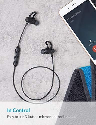 Anker SoundBuds Surge Bluetooth Kopfhörer, in Ear magnetischer Kopfhörer mit 6-Stunden-Spielzeit/Wasserschutzklasse IPX4/Mikrofon für iPhone, iPad, Samsung, Nexus, HTC und mehr - 8