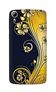 SWAG my CASE Printed Back Cover for HTC Desire 828