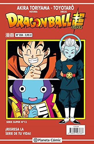 Dragon Ball Serie roja nº 224 (Manga Shonen) por Akira Toriyama