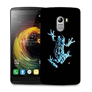 Snoogg frog on my phone Designer Protective Back Case Cover For Lenovo A7010