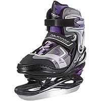 Nijdam Eiskunstlaufschlittschuhe Junior Kunstlaufskates - Patines de hockey sobre hielo, color negro, talla 34-37