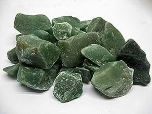 1 kg pierre brute aventurine,semi-précieuses,décoration,gemme,