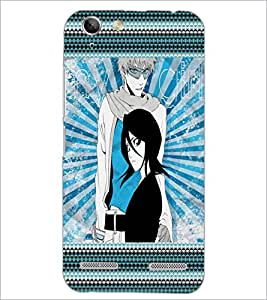 PrintDhaba Girls D-4069 Back Case Cover for LENOVO A6020a46 (Multi-Coloured)