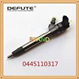 DEFUTE Diesel common rail 0445110317 injector assembly quality is good