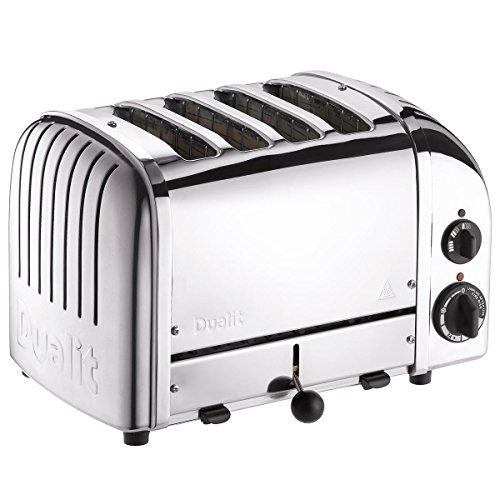 Dualit Toaster 4 à sous classiques Vario AWS - acier inoxydable poli 40378  - * ** IMPORTATION BRITANNIQUE ***