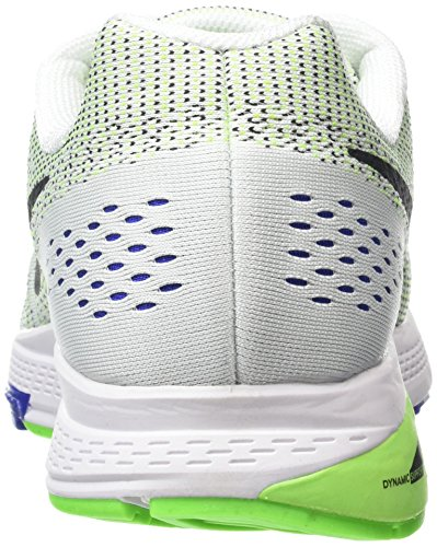 Nike Air Zoom Structure 19, Chaussures de Running Homme Blanc (White/Black/Electric Green/Concord)