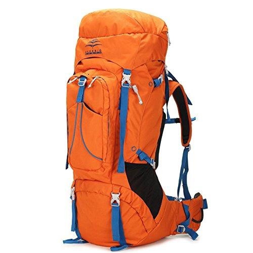BUSL Alpinismo zaino grande borsa capacità uomini esterni impermeabili e le donne che guidano borsa da viaggio borsa da viaggio zaino 75L . b b