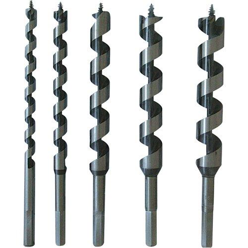 Silverline 298528 Schneckenbohrer, 5-tlg. Satz 10–25 mm