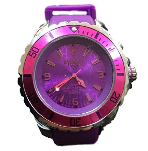 Kyboe. Giant 48Lila–Mujer Reloj De Pulsera KYBOE