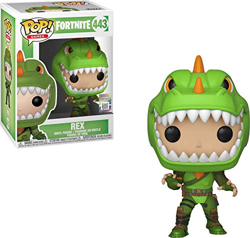 Funko 34957 Pop-Vinyl: Fortnite: Rex, Multi