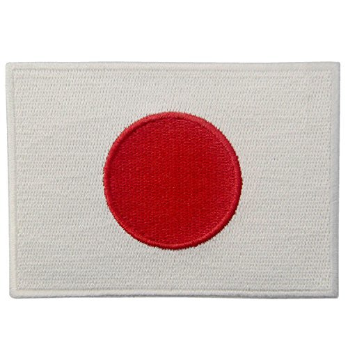 Japan Flagge bestickter Japanischer National Emblem Eisen auf Sew auf Patch (Japan National Kostüm)