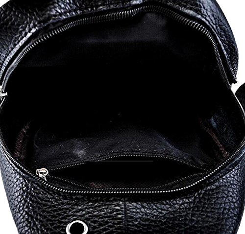 High-End-Mode Casual Herren-Tasche Brust Tasche Schultertasche Messenger Bag Leder Tasche Leder Red