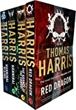 Hannibal Lecter Series Collection 4 Books Set by Thomas Harris (Red Dragon, Silence Of The Lambs, Hannibal, Hannibal Rising) - Thomas Harris