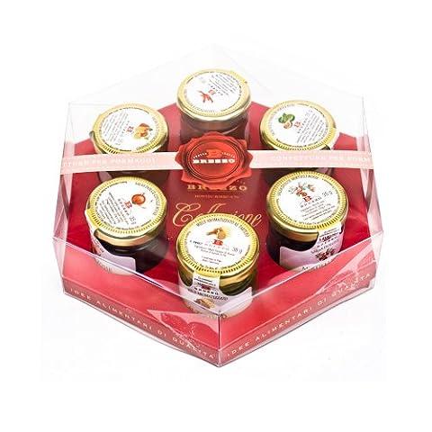 Staus für Käse Geschenkbox mit Trüffelhonig (6 x (Conserve Gift Box)
