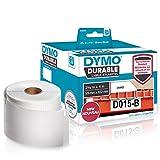 Dymo Lw Durable Etichette Industriali Permanenti per Stampanti per Etichette Labelwriter, Poliestere Bianco, 59 X 102 mm, Rotolo da 300 (1933088)