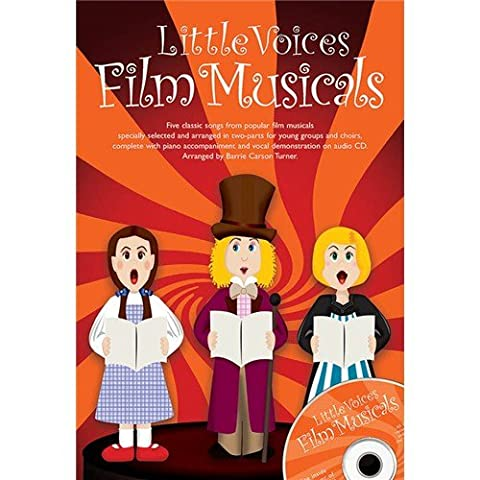 Little Voices - Film Musicals. Sheet Music, CD for 2-Part Choir, Piano Accompaniment, Choral