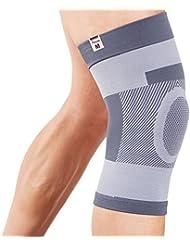 Actesso Kompression Kniebandage Kniestütze - Kniehülse ist ideale für Bänderverletzungen oder Zerrungen order für Sportverletzung inklusive. Ideale für Männer & Frauen