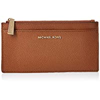 MICHAEL KORS Womens Large Slim Card Case, Luggage - 34F9GF6D7L