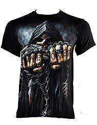 Spiral Direct Game Over T Shirt (Noir) - X-Large