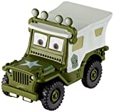 Disney Pixar Cars petite voiture Sergent Equipe de Ravitaillement, édition Noël, jouet pour enfant, FBG31