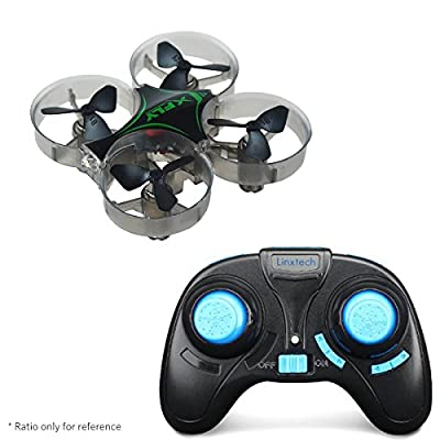 FancyWhoop XFLY Mini Quadcopter 2.4G 4CH 6-Axis Gyro Remote Control One Key Automatic Return Micro Drone RTF