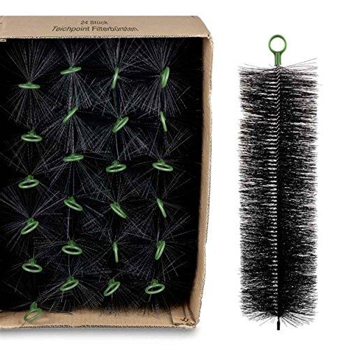 Wagner GREEN 24 Stück Filterbürsten, für Ihren Teichfilter und Koi Teich Filter (50x15 cm)
