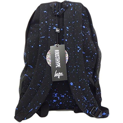 Hype Zaino Splatter Black / Blue