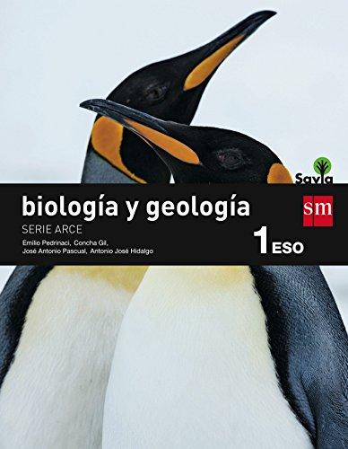 Biología y geología, Arce. 1 ESO. Savia - 9788467576092