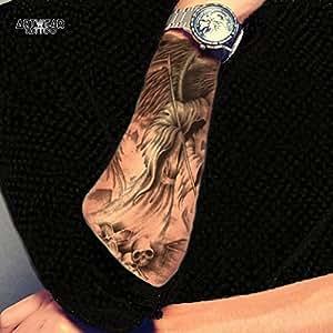 "Tatouage Temporaire ""Muerta"" - ArtWear Tattoo Reaper - B0058 M"
