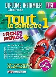 IFSI Tout le semestre 1 en fiches mémos - Diplôme infirmier - 2e édition: Diplôme d'Etat infirmier