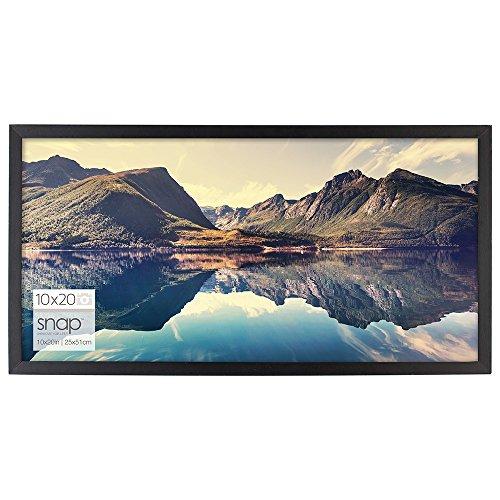 Pinnacle Frames and Accents Snap Digital Erweiterung Rahmen, Schwarz, 20x10 -
