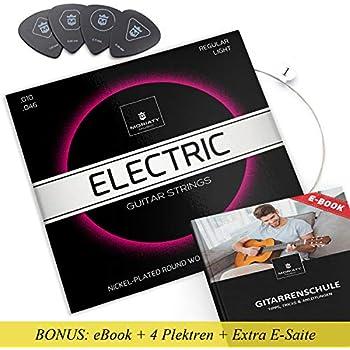 Humbucker Saiten für E-Gitarre Gibson SEG-SA10 Satz 010-046