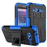 "Alcatel Pixi 4 (4"") 3G Coque, FoneExpert® Etui Housse Coque ShockProof Robuste Impact Armure Hybride Béquille Cover Pour Alcatel Pixi 4 (4"") 3G"