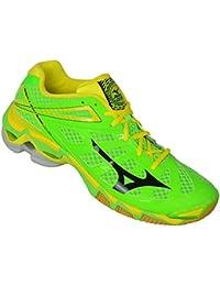 Mizuno Hombre Wave Lightning RX–Zapatillas de voleibol, neonlimeblackbolt, 47 EU