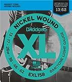 D'Addario EXL158 Saitensatz Gitarre Baritone-Light 013' - 062'