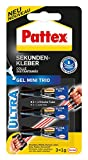 Pattex Sekundenkleber Gel Mini Trio