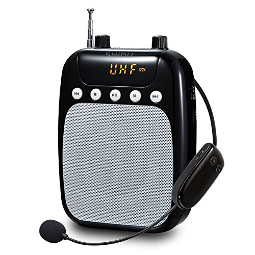 uhf-wireless-voice-amplifier-shidu-s318-f-sd-10-w-fm-voice-amplifier-with-2600-mah-rechargeable-lith