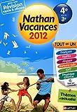 Nathan vacances Tout en un de la 4e vers la 3e
