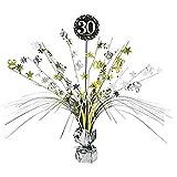 Feste Feiern Geburtstagsdeko Zum 30 Geburtstag I 1 Teil Tischdekoration Kaskade Gold Schwarz Silber Party Deko Set Happy Birthday