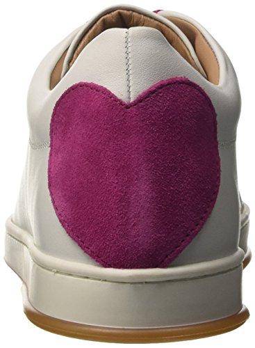 Twin Set Milano Cs8pjj, Sneaker Donna Bianco (Bic.Otticoortensia)