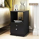 EWYGFRFVQAS Mini-nachttisch Schlafzimmer Ultra schmal Einfaches kabinett des bettes Kleines schließfach mit Schloss Montage nachttisch-K