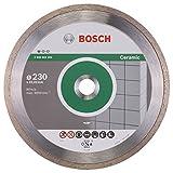 BOSCH Diamanttrennscheibe Standard für Ceramic, 230 x 22,23 x 1,6 x 7 mm, 1-er Pack, 2608602205