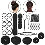 PIXNOR BRICOLAJE accesorios de peinado herramientas Kit Set para mujeres