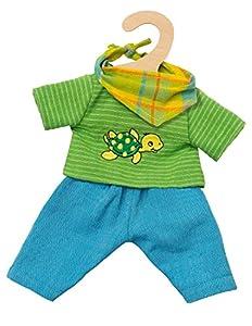 Heless 2721-Comercio Justo muñeca Outfit MAX, Tamaño 35-45cm