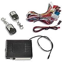 JOM 7105-1 Keyless Open, Funkfernbedienung für Vorhandene Original-Zentralverriegelung mit 2 Mini-Funksender Edelstahl