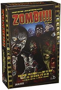 Zombi!!! - Juego de mesa (tercera edición, versión en italiano) Importado de Italia
