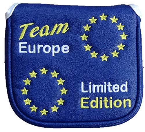 Team Europe Limited Edition magnétique Housse de putter de golf Maillet, 2boules, Spider, Odyssey...