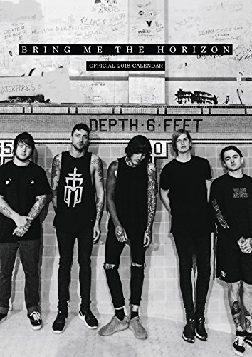 Bring Me the Horizon Official 2018 Calendar A3 Poster Format