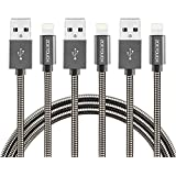 Lightning Kabel ZOETOUCH Metall iPhone Ladekabel Datenkabel für iPhone iPad iPod - 3er Set 3.3ft (3x1m)